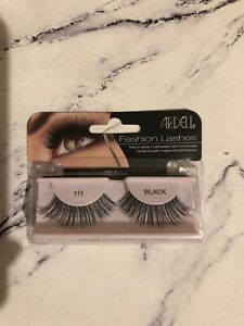 752e900ecfb Image is loading Ardell-Fashion-Lashes-Black-111-Super-Long-Eyelashes