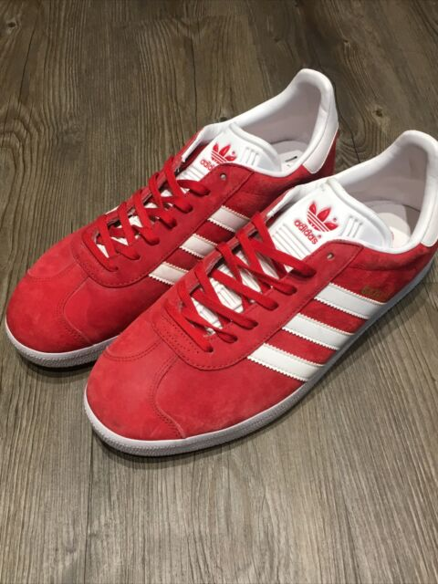 Size 9.5 - adidas Gazelle Scarlet for sale online   eBay