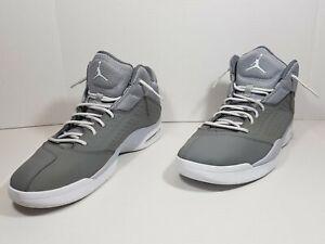 profesjonalna sprzedaż później różne style Details about Nike Air Jordan New School Basketball Shoes Cool Wolf Grey  768901 011 Sz 11
