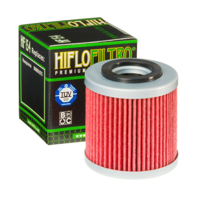 Hiflo HF154 Motorcycle Motorbike Replacement Premium Engine Oil Filter