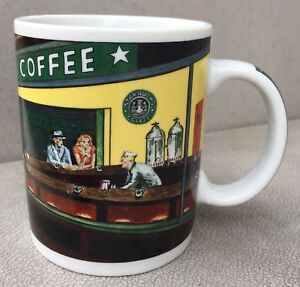 About Coffee Details Nighthawks Starbucks By Diner DBurrowsCup Chaleur Vintage Mug nPOwk0