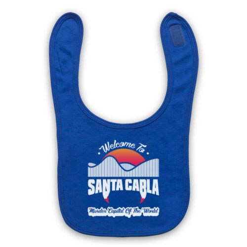 SANTA CARLA MURDER CAPITAL THE LOST BOYS UNOFFICIAL BABY BIB CUTE BABY GIFT