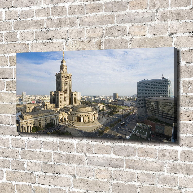 Leinwandbild Kunst-Druck 140x70 Bilder Kulturpalast