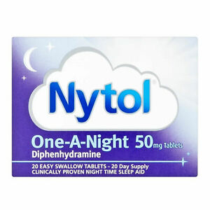 Nytol Sleep Aid One A Night 50mg Tablets 20 - (MAX ONE UNIT PER TRANSACTION)