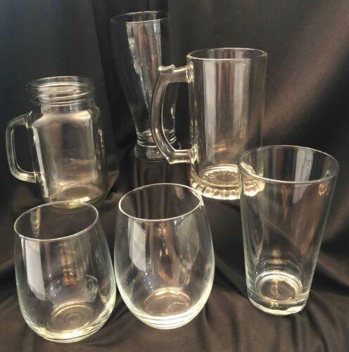Grateful Dead Jerry Dancing Bear Deadhead Craft Beer Pint Glass Laser Engraved