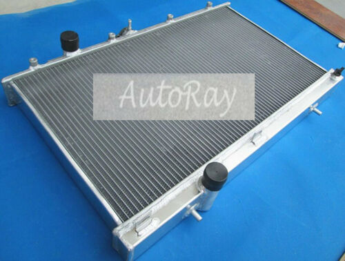 Aluminum Radiator for Mitsubishi Lancer EVO 4 5 6 IV V VI Manual CP9A//CN9A 96-01