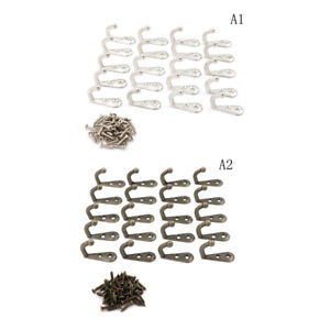 Hot-20Pcs-Vintage-Antique-Wall-Door-Hooks-For-Clothes-Coat-Hat-Bag-Towel-BatHGwr