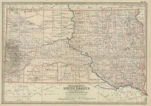 1897-98-N-Dakota-amp-S-Dakota-by-The-Century-Co-2-maps