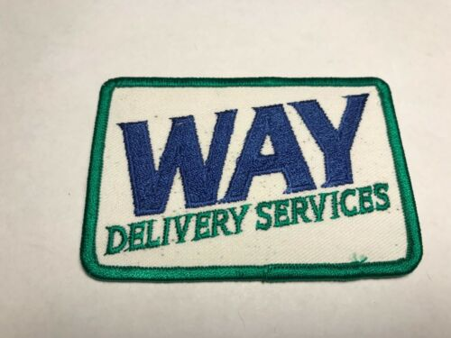 Way Delivery Services Courier Service Lancaster PA Pennsylvania Truck Patch L