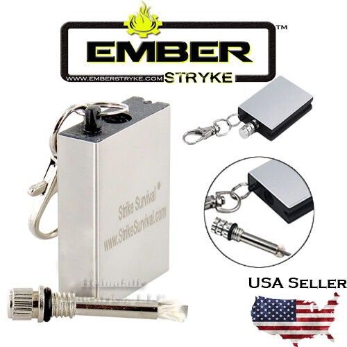 Forever Perma Match - Survival Lighter,Outdoors, Camping, Bushcraft