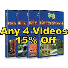 Bike-O-Vision 4 Widescreen Cycling DVDs 15% OFF