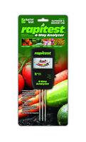 Rapitest 4 Way 1880 Soil Lawn Flower Plant Test Meter Garden Tester Ph Npk