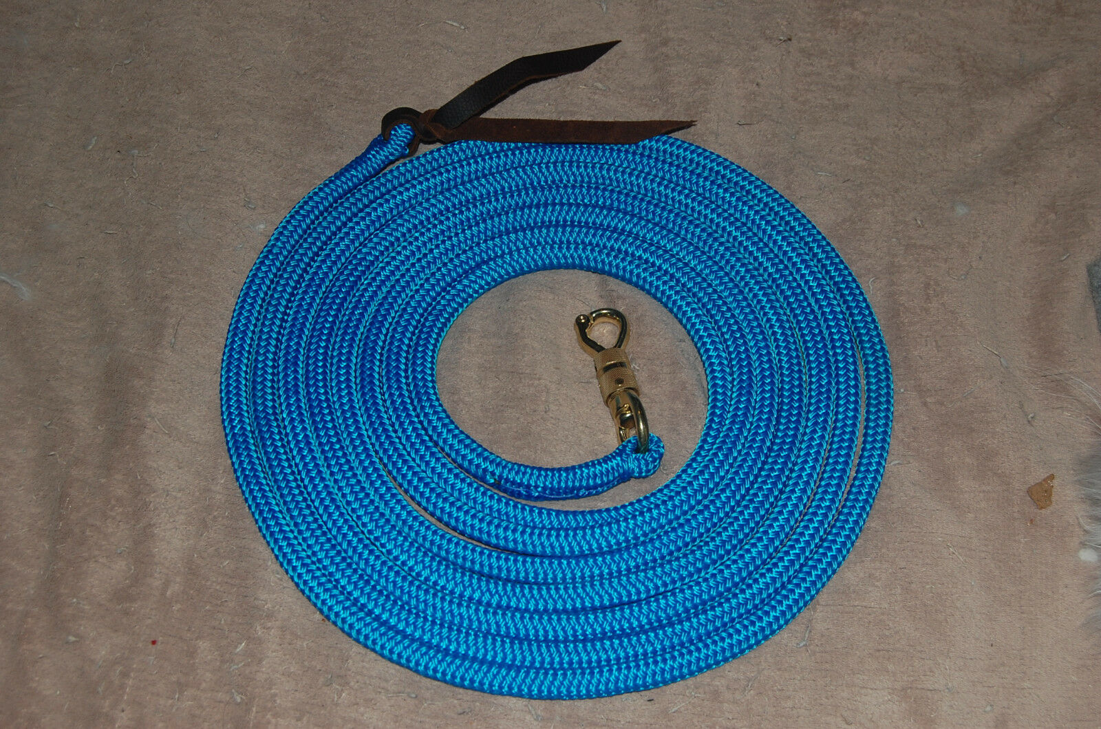 22' LONGE LINE LEAD ROPE W TWIST  SNAP FOR PARELLI TRAINING METHOD, MANY COLORS   on sale 70% off