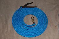 22' Longe Line Lead Rope W/twist Snap For Parelli Training Method, Many Colors
