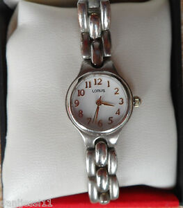 2200577e8b6e La imagen se está cargando Reloj-Lorus-para-mujer-Buen-estado