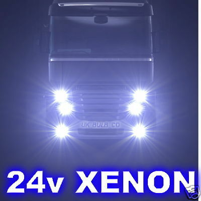 H1 Xenon Bulbs 24v 100w Lorry Truck Commercial HGV etc