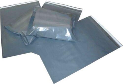 """1000 Solide Gris Sacs postaux Mailer 10X14/"""" A4 poly livraison Self Seal spoff"""