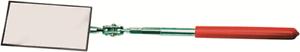 ABW TELESCOPIC INSPECTION MIRROR 286-387mm Swivel Ball Joint Head, Rectangle