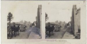 Big-Large-Guerre-in-Saint-Hilaire-WW1-Photo-Stereo-Vintage-Analogue