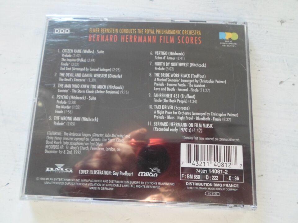Bernard Herrmann : Film Scores NY I FOLIE !, andet