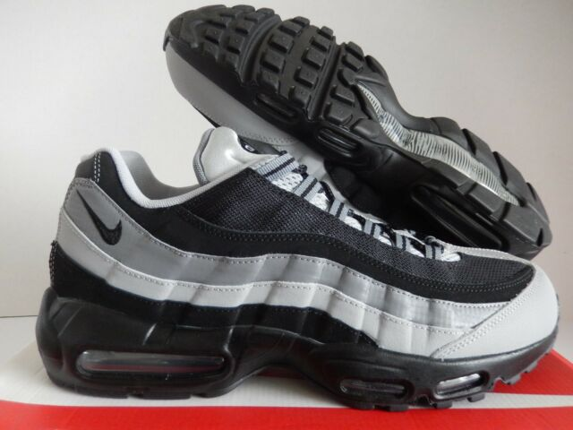 best service 341b7 855da NIKE AIR MAX 95 ESSENTIAL BLACK-WOLF GREY SZ 13  749766-005