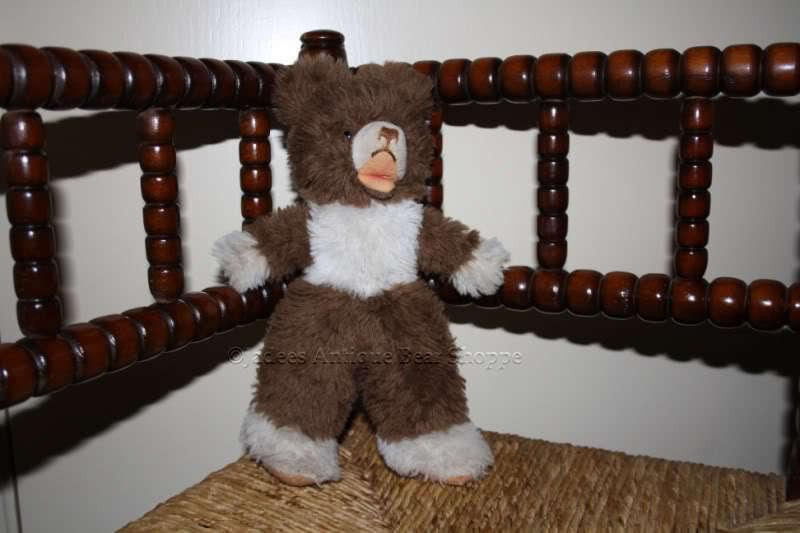 Hermann Soft Standing Zotty Bear Dralon 60s Squeaker