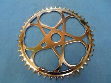Vintage Heart Chainring Cruiser Bicycle Sprocket in Chrome 46T - New