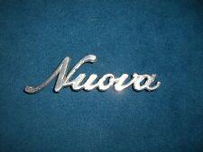 Emblem Badge Alfa Romeo Giulia Nuova aus Metall, ca. 12,5 x 3,5 cm