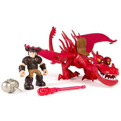DRAGON RIDERS SNOTLOUT & HOOKFANG DEFENDERS OF BERK HOW TRAIN TO TRAIN HOW YOUR DRAGON addacb