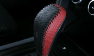 VE-WM-STATESMAN-CAPRICE-AUTO-REDHOT-LEATHER-SHIFT-GEAR-KNOB-GRIP-ASSEMBLY-GM-NEW