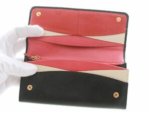 b3bc1a8e81fd Image is loading Authentic-Prada-Saffiano-Leather-Black-Multic-Peonia-Pink-