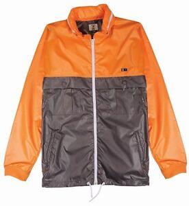 b3603f2262a80 Image is loading Fourstar-Skateboard-Clothing-Ishod-Wair-Safety-Orange- Jacket-