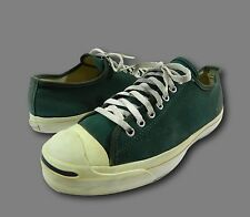 Vintage JACK PURCELL USA CONVERSE Green Athletic Sneakers Shoes Sz 11