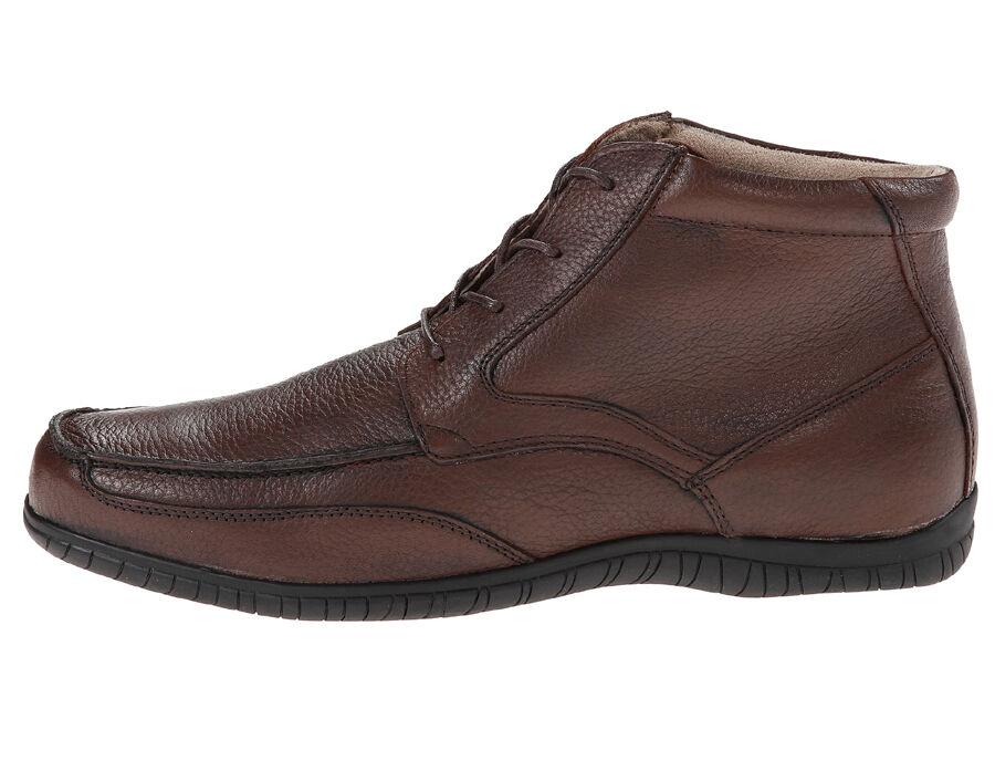 New Hush Puppies Stuart Knox Waterproof Leather Men Boots Sz. 13 (MSRP 140)