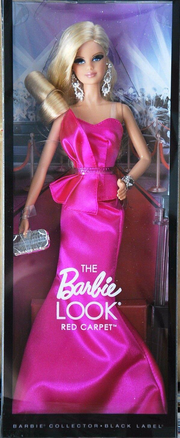 BARBIE LOOK rot CARPET NRFB NRFB NRFB - schwarz LABEL new model muse doll collection Mattel e29c6b