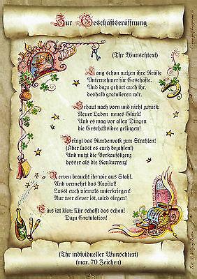 Urkunde personalisiert Geschenk Karte zur bestandenen Ausbildung Azubi Pr/üfung