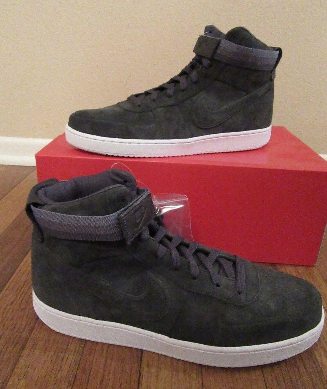 Nike Vandal High PRM Size 11.5 Anthracite White AH7171 002 John Elliott New NIB