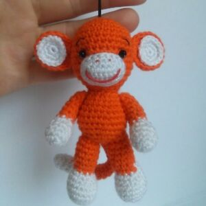 Toy Monkey crochet pattern | 300x300