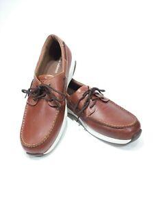 Men-039-s-NWOB-New-Balance-Boat-Shoes-MD1200SB-brown-walking-shoes