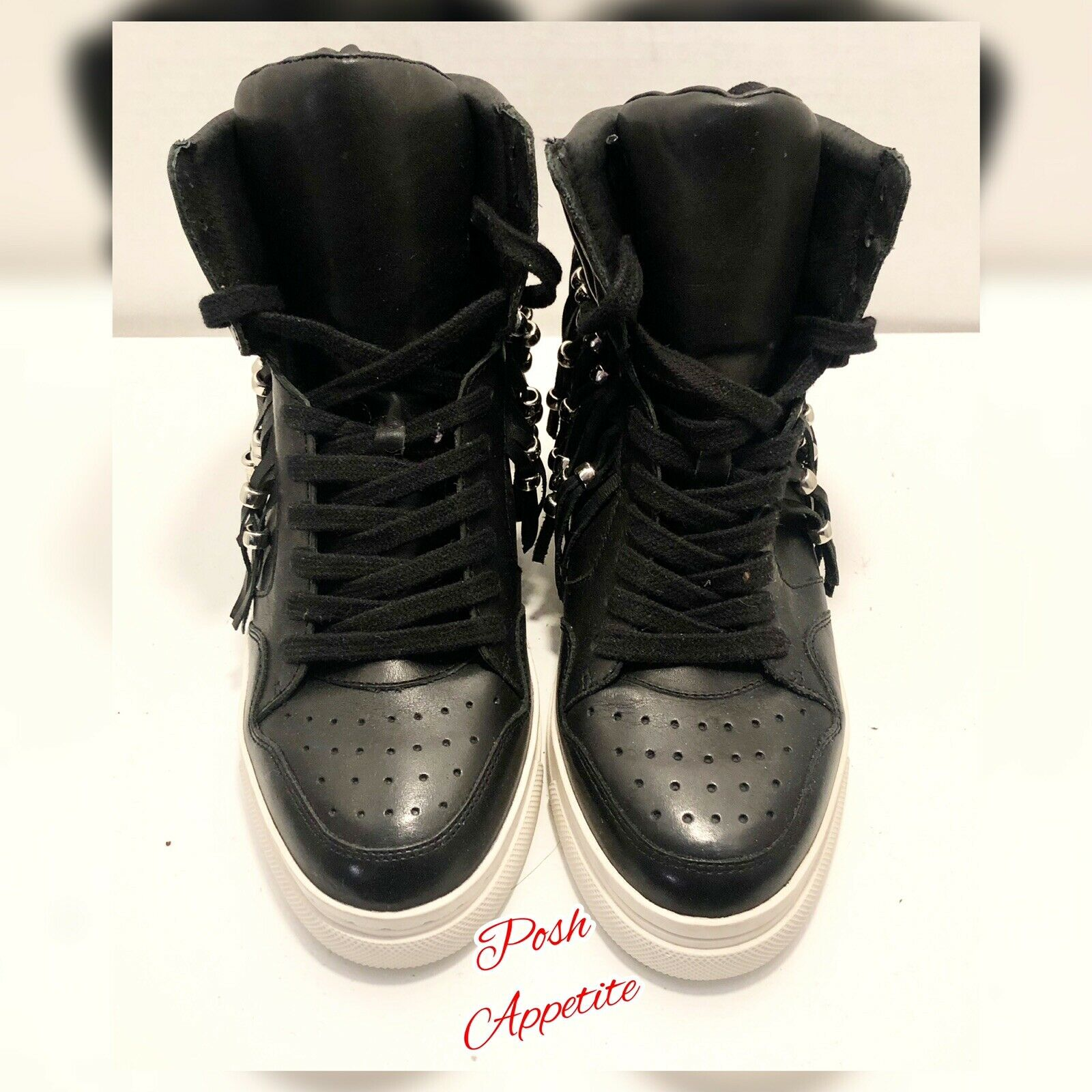 ASH Funky Funky Funky High Top Bead & Fringe Sneakers 2022db