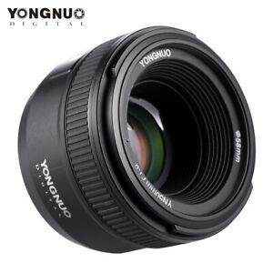 YONGNUO YN50MM F1.8 LARGE APERTURE AF AUTO FOCUS FX DX LENS FOR NIKON/CANON DSLR