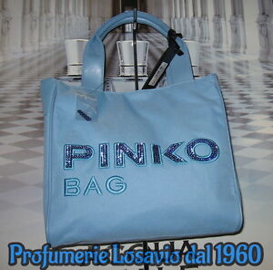 Borsa-PINKO-BAG-034-Idrostatica-034-Celeste-Nylon-ed-Ecopelle-ULTIMI-PEZZI
