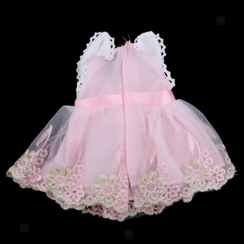 Fashion Bubble Sleeveless Skirt for 14inch AG American Doll Clothes Girls Gift