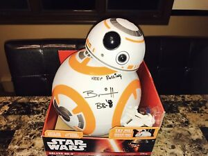 Le héros Jedi Coa, marionnettiste figurine 18   Star Wars Bb-8 Signed 18