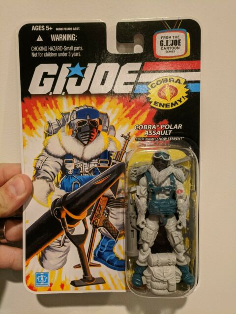 Hasbro G.I. Joe Wave 9 Snow Serpent Action Figure