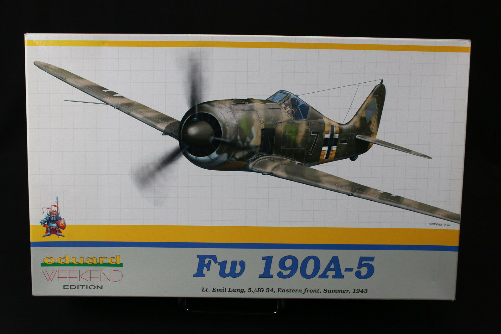 YU010 EDUARD 1 48 maquette avion 8430 Fw 190A-5