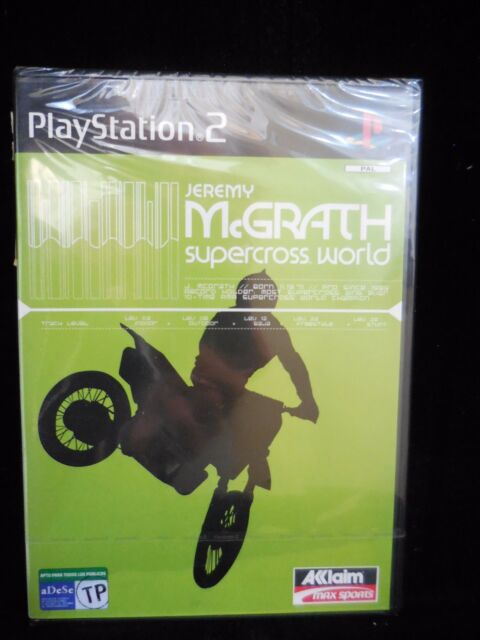 Jeremy McGrath Supercross Word para playstation 2 nuevo y precintado