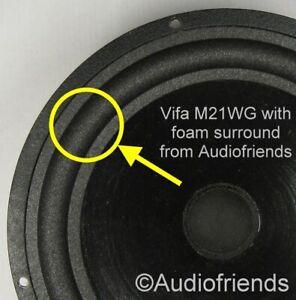 Vifa-M21WG-in-various-Heybrook-Snell-JPW-speakers-gt-2x-foam-surrounds