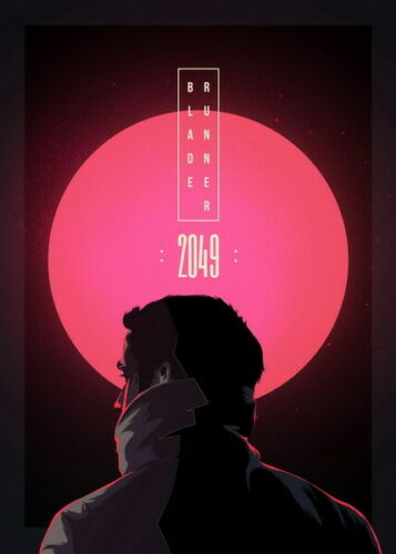 275839 BLADE RUNNER 2049 MONDO Classic Movie DECOR PRINT POSTER FR