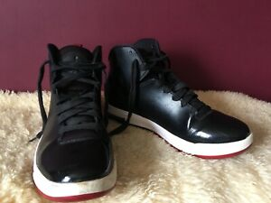 best service 046b4 08546 Image is loading NIKE-JORDAN-AIR-IMMINENT-705077-001-Black-Red-